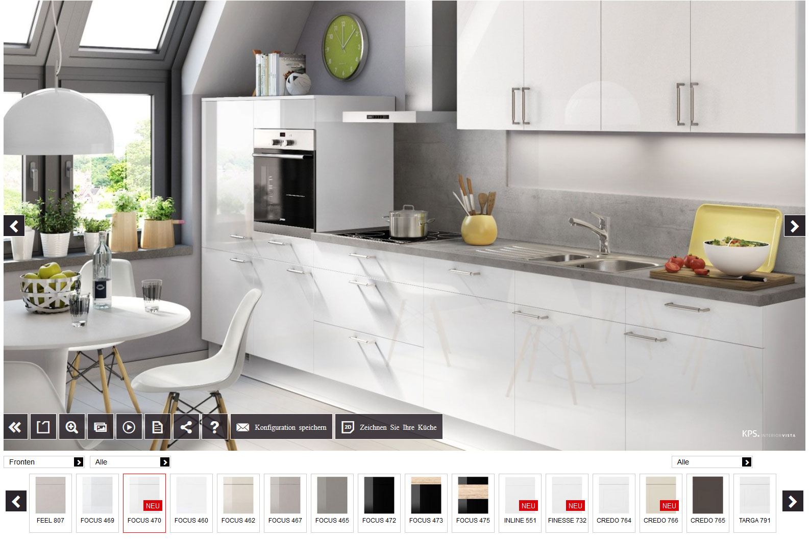 Küchenkonfigurator  M&M Küchen